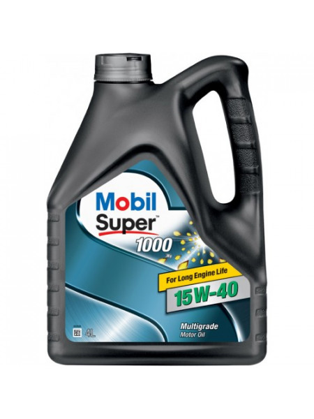 Картинка товара Масло моторное Mobil Super 1000 15W-40 4л.