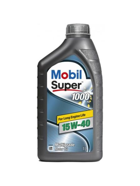 Картинка товара Масло моторное Mobil Super 1000 15W40 1л.