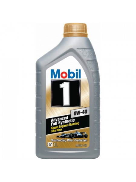 Картинка товара Масло моторное Mobil 1 0W-40 SN/CF 1л.