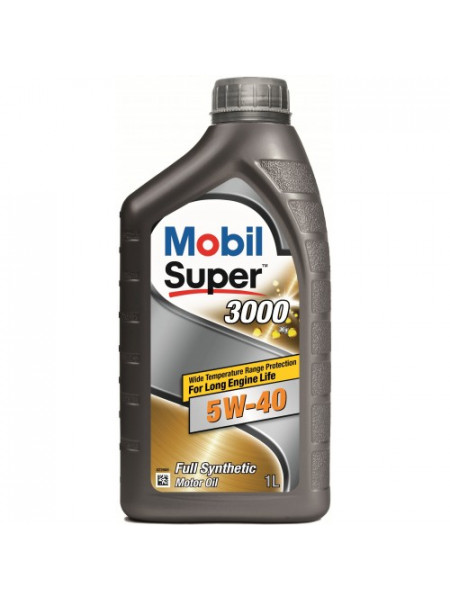 Картинка товара Масло моторное Mobil Super 3000 5W-40 SN/CF 1л.