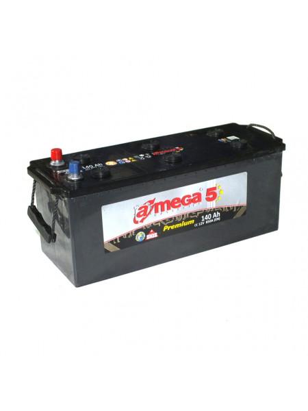 Картинка товара Аккумулятор стартерный A-MEGA PREMIUM (M5) 6СТ-140 А3 (513x189x223) Евро