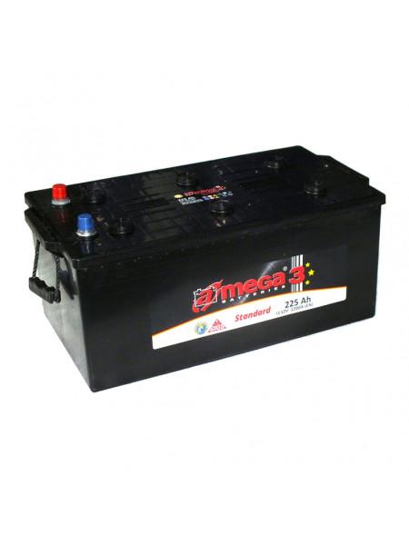 Картинка товара Аккумулятор стартерный A-MEGA Standard (М3) 6СТ-225 А3 (518x274x240) Евро